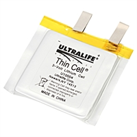 ULTRALIFE LITHIUM THIN CELL U10004 3V/1500mAh