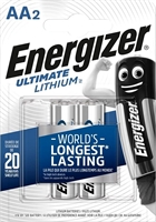 ENERGIZER ULTIMATE LITHIUM AA/L91 BLISTER 2