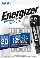 ENERGIZER LITHIUM ULTIMATE AAA/L92 BLISTER 4