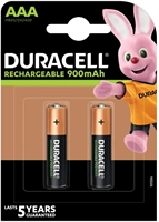 DURACELL RECHARGE ULTRA AAA 850MAH BLISTER 2