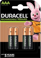DURACELL RECHARGE ULTRA AAA 900MAH BLISTER 4