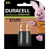 DURACELL RECHARGE ULTRA  AA 2500MAH BLISTER 2