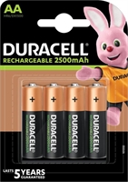 DURACELL RECHARGE AA ULTRA  2500MAH BLISTER 4