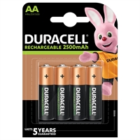 DURACELL STAY CHARGED NIMH HR06 AA BLISTER 4