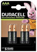 DURACELL STAY CHARGED NIMH HR3 AAA BLISTER 4