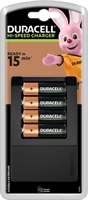 DURACELL LADER CEF15 HI-SPEED INCL 4AA