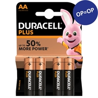 DURACELL PLUS POWER ALKALINE AA/MN1500 BLISTER 4