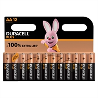 DURACELL PLUS ALKALINE EXTRA LIFE AA/MN1500 BLISTER12