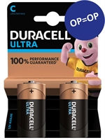 DURACELL ULTRA POWER ALKALINE LR14 MX1400/C BLISTER 2