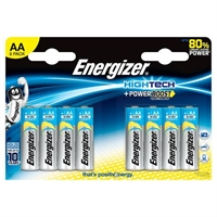ENERGIZER HIGH TECH ALKALINE AA/R06 BLISTER 8