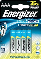 ENERGIZER HIGH TECH ALKALINE AAA/R03 BLISTER 4