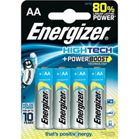 ENERGIZER HIGH TECH ALKALINE AA/R06 BLISTER 4