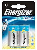 ENERGIZER HIGH TECH ALKALINE C/LR14 BLISTER 2