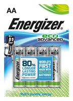 ENERGIZER ECO ADVANCED ALKALINE AA/LR06 BLISTER 4