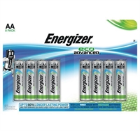 ENERGIZER ECO ADVANCED ALKALINE AA/LR06 BLISTER 8