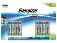 ENERGIZER ECO ADVANCED ALKALINE AAA/LR03 BLISTER 8