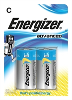ENERGIZER ADVANCED ALKALINE C/LR14 BLISTER 2