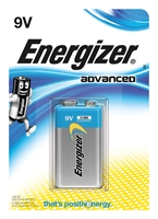 ENERGIZER ADVANCED ALKALINE 9V/6LR61 BLISTER 1