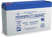 6V/12AH POWERSONIC SLA  AGM BATT PS6120
