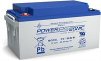 POWERSONIC 12V/65AH SLA  AGM PS12650