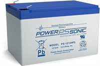 POWERSONIC 12V/12AH  SLA  AGM PS12120VDS