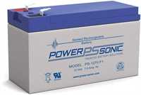 POWERSONIC 12V/7.0AH SLA  AGM PS-1270VDS