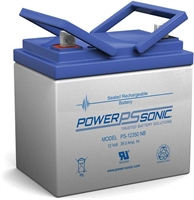 POWERSONIC 12V/35AH SLA  AGM PS12350S