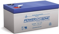 POWERSONIC 12V/3,4AH SLA  AGM PS1230