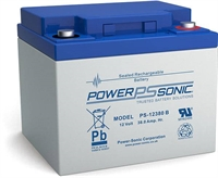 POWERSONIC 12V/38AH SLA  AGM PS12380 -VDS-