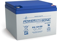 POWERSONIC 12V/30AH SLA  AGM PG12V30 LONG LIFE