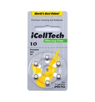 I CELL TECH MERCURY FREE 10