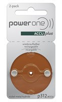 POWER ONE P312 ACCUPLUS Ni-MH BL2 *p/st*