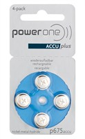 POWER ONE P675 ACCUPLUS Ni-MH BL4 *p/st*