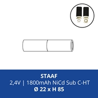 ACCUPACK PS NICD CS 2,4V/1800mAh STAAF ETAP