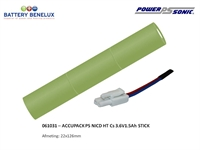 ACCUPACK PS NICD HT Cs 3.6V1,5Ah ST PHILIPS