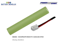 ACCUPACK PS NICD HT C 3,6V2,5Ah ST BLESSING