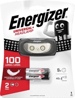 ENERGIZER UNIVERSAL PLUS HEADLIGHT 2 LED 100LM INCL.2AAA