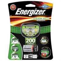 ENERGIZER ZAKLAMP VISION HD HEADLIGHT 7 LED +3AAA