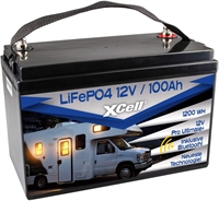 XCELL LIFEPO4 12.8V/100AH PRO ULTIMATE LITHIUM BLUETOOTH
