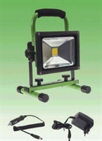 FLOODLIGHT LED PORTABLE 20W MODEL 2 GROEN