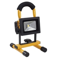 VETEC FLOODLIGHT LED PORTABLE 10W GEEL
