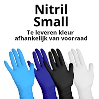 SPECIAL HANDSCHOENEN 100 ST NITRIL SOFT SMALL PDR-VRIJ